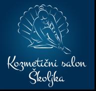 Kozmetični salon Školjka